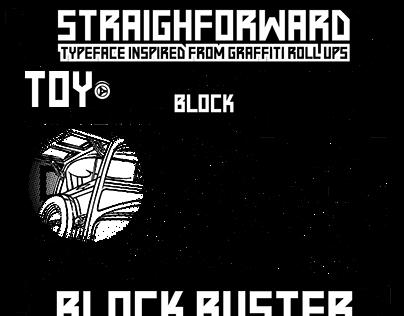 Straightforward / Typeface