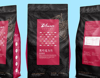 Blommer Chocolate Packaging Design