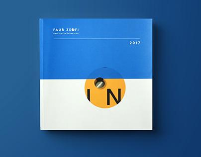 Faur Zsófi Gallery Catalog Redesign