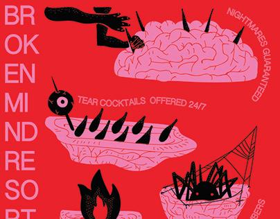 Broken Mind Resort Poster