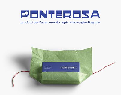 Ponterosa srl - Restyling Brand Identity