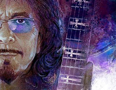 Tony Iommi illustration