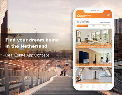 The Netherlands Housing Estate App