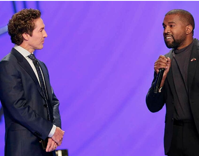 Joel Osteen & Kanye West