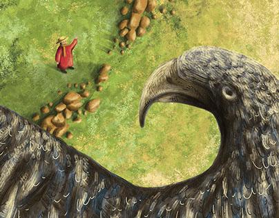 El labrador y el águila