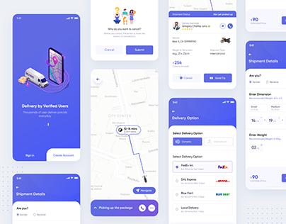 Parcel Delivery App