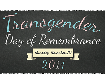 Trans Day of Remembrance 2014