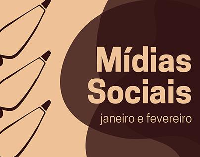 Mídias Sociais - Sabor e Arte