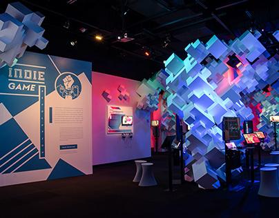 Indie Game Revolution Exhibit Graphics