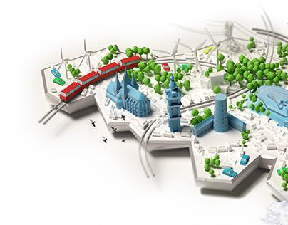 Wall-e Cities