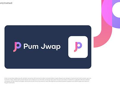Pum Jwap Logo Design - JP modern Logo design