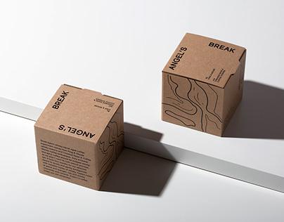 ANGEL'S BREAK   coffee beans packaging