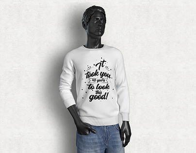 Typography for T-shirt