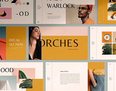 Orches Powerpoint Template