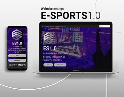 ES1.0 - Website Concept