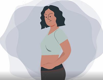 (영상)women underwear introduce Motion Graphic (Sound X)