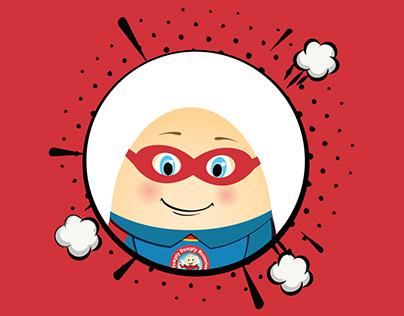 Humpty Dumpty Nursery - Creative advertising / Mascot