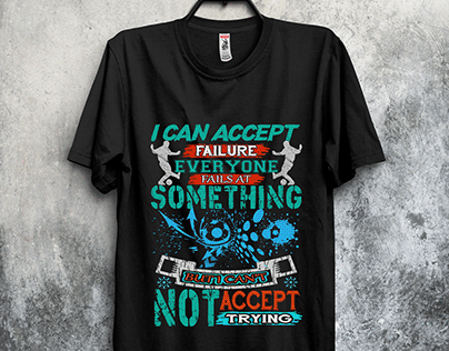 sports t-shirt design.