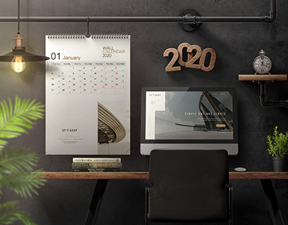 Calendar 2020 Design