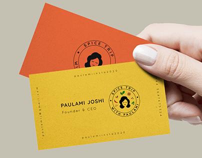 Logo & Identity design for Spice Trip With Paulami