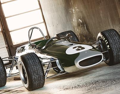 Brabham 3D modelling (free model)
