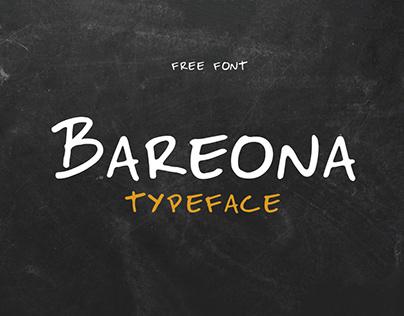Free Bareona Handwritten Font
