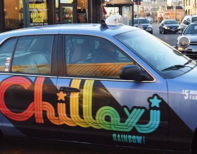 Rainbow Taxi Rebrand