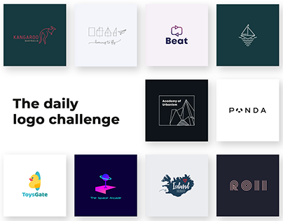 My favorite logos from the daily logo challenge