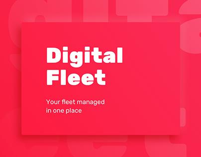 Digital Fleet - system for fleet managers 😎