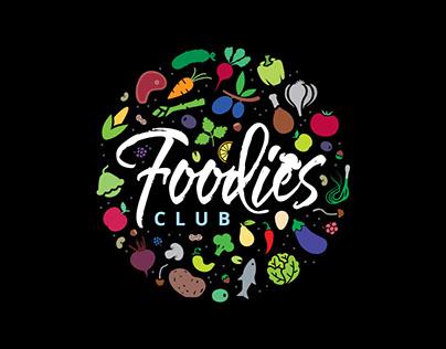 Foodies Club Branding