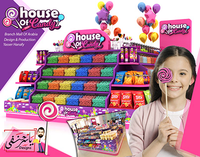Candy Booth Mall Of Arabia