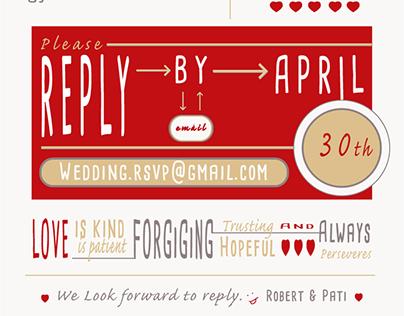 Wedding Invitation - Modern