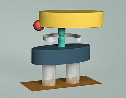 Molecular Engine Illustrations