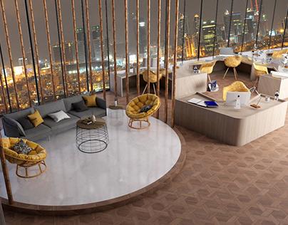 interior design (v-ray for sketchup)