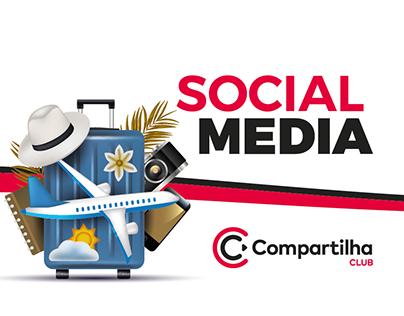 SOCIAL MEDIA - COMPARTILHA CLUB