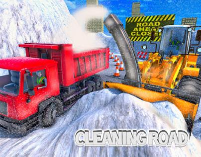 snow Blower Excavator
