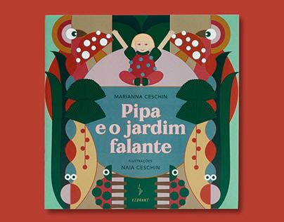 Livro Pipa e Jardim Falante