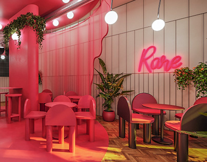 REDPOINT Coffee & Roastery | Interior Design