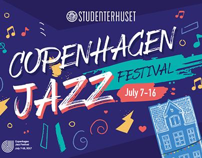 Copenhagen Jazz Festival for Studenterhuset