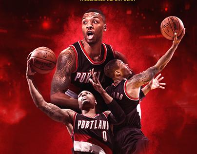 NBA 2K17 Bleacher Report Artwork