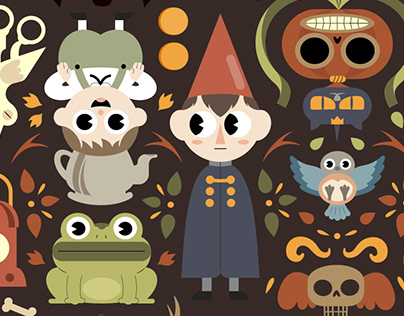 OVER THE GARDEN WALL PATTERN