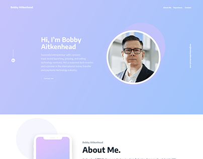 CV Website Proyect Design