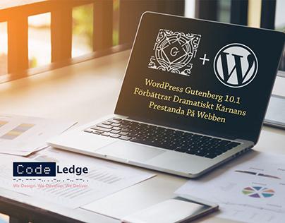 WordPress Gutenberg 10.1 Förbättrar Kärnans Prestanda