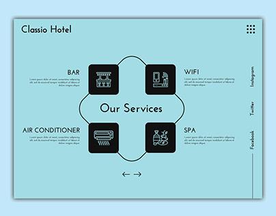 Hotel Service UI