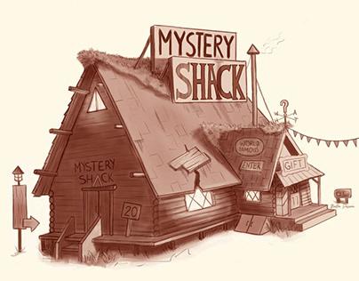 Mystery Shack Fanart