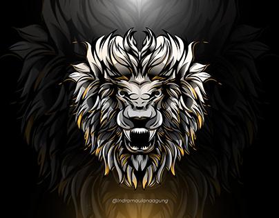 Lion Illusration