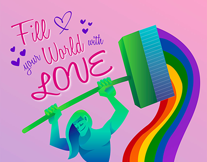 Fill your world with love