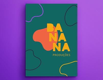 banana produções | identidade visual