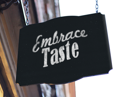 Embrace Taste - Food Service Branding