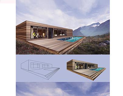 Архітектурна візуалізація (Architectural Rendering)